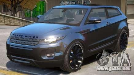Range Rover Evoque V2 para GTA 4