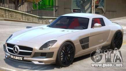 Mercedes Benz SLS Widestar para GTA 4