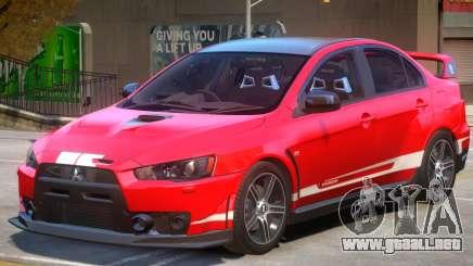 Mitsubishi Lancer PJ1 para GTA 4