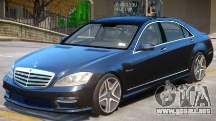 Mercedes Benz S65 W221 para GTA 4