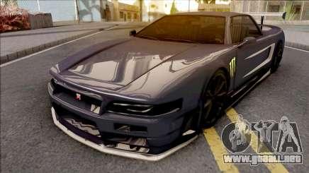 Infernus R34 Monster Energy para GTA San Andreas