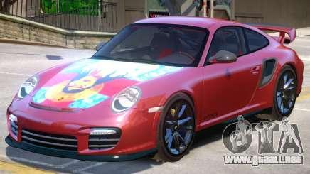Porsche 911 GT2 PJ5 para GTA 4