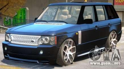 Range Rover Supercharger V1 para GTA 4