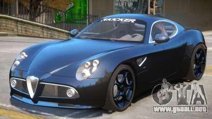 Alfa Romeo Competizione para GTA 4