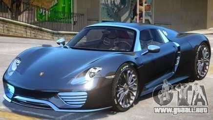 Porsche 918 Spyder V2 para GTA 4