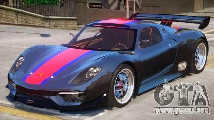 Porsche 918 RSR PJ3 para GTA 4
