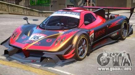 Pagani Zonda R PJ2 para GTA 4