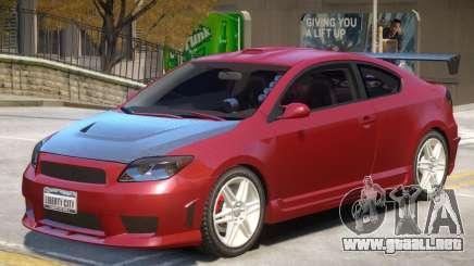 Toyota Scion V1 para GTA 4