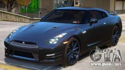 Nissan GT-R V2 para GTA 4