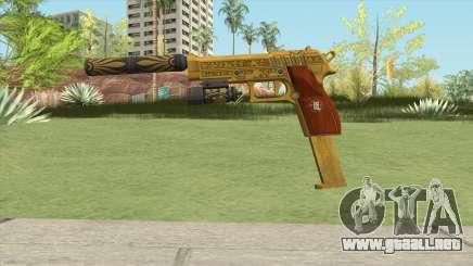 Hawk And Little Pistol GTA V (Luxury) V3 para GTA San Andreas