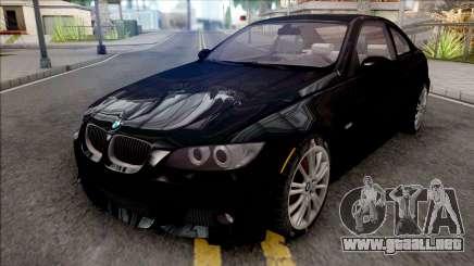 BMW E92 335i M-Tech 2008 para GTA San Andreas