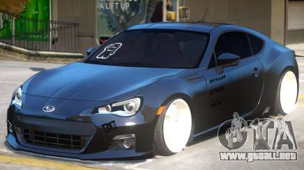 Subaru BRZ Improved para GTA 4
