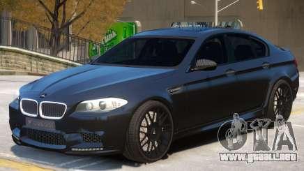 BMW M5 F10 R2 para GTA 4