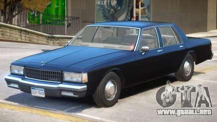 1989 Chevrolet Caprice V1 para GTA 4