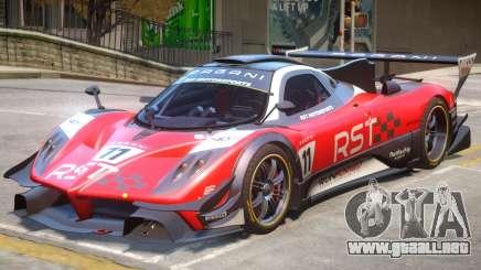 Pagani Zonda R PJ6 para GTA 4