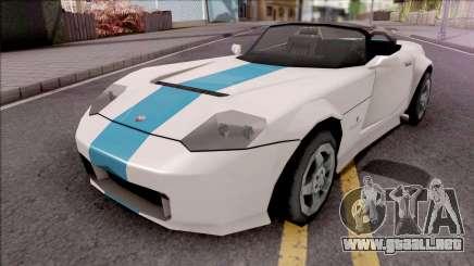 Bravado Banshee 2008 Lowpoly para GTA San Andreas