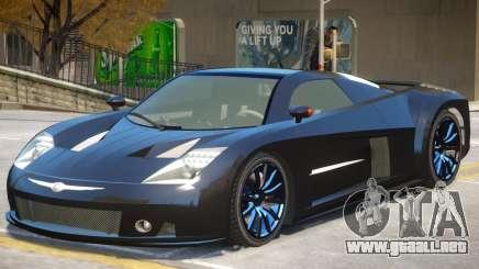 Chrysler ME Four-Twelve V1 para GTA 4