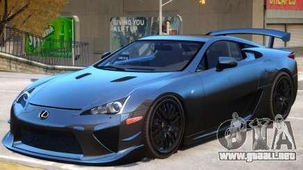 Lexus LFA V1 para GTA 4