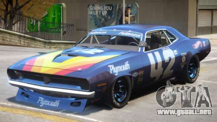 1970 Plymouth Cuda PJ1 para GTA 4