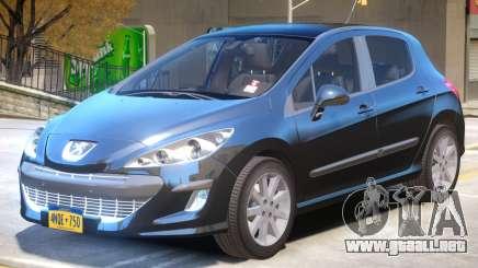 Peugeot 308 R4 para GTA 4
