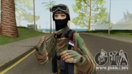 Serbian Soldier 1995 para GTA San Andreas
