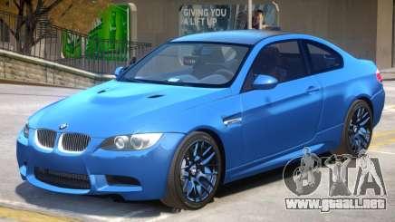 BMW M3 E92 V1.2 para GTA 4