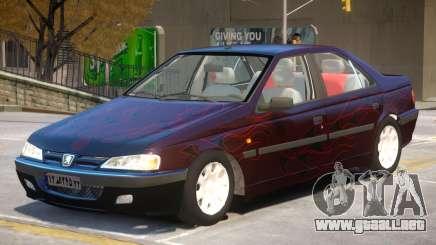 Peugeot Pars V1 PJ1 para GTA 4