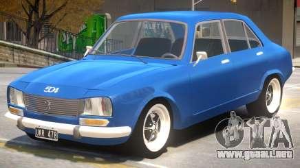 Peugeot 504 V1.1 para GTA 4