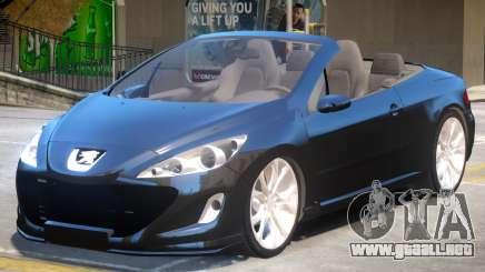 Peugeot 308 Cabrio para GTA 4