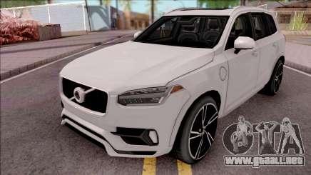 Volvo XC90 2017 Lowpoly para GTA San Andreas