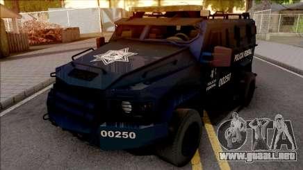 Lenco Bearcat G3 Policia Federal para GTA San Andreas