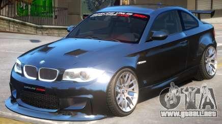 BMW M1 E82 V2 para GTA 4