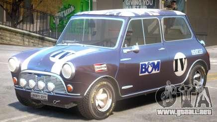 Mini Cooper V1 PJ3 para GTA 4