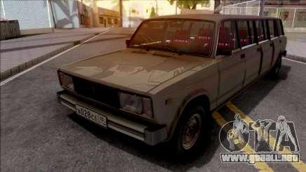 ВАЗ 2104 Limusina por Completo CJ Pandilla para GTA San Andreas