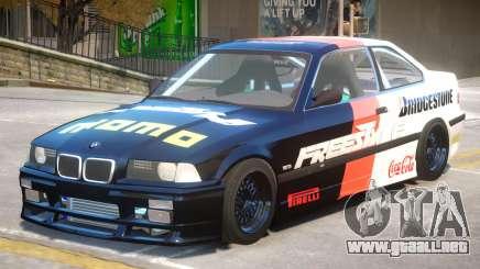 BMW M3 E36 V1 PJ2 para GTA 4