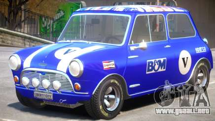 Mini Cooper V1 PJ5 para GTA 4