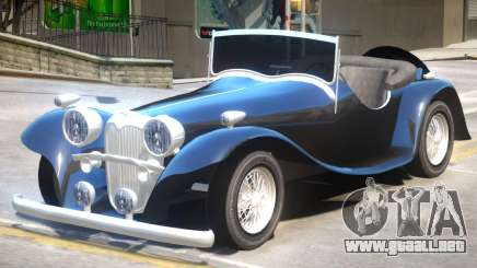 Jaguar SS100 V1 para GTA 4
