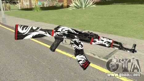 AK-47 Dragon para GTA San Andreas