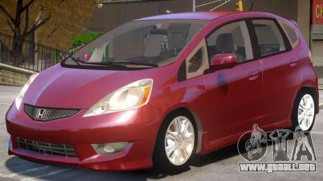 Honda Fit V1 para GTA 4
