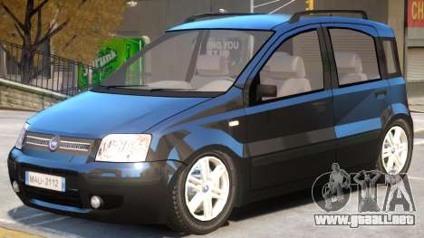 Fiat Panda V1 para GTA 4