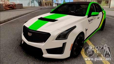 Cadillac CTS-V Kotow Drive para GTA San Andreas
