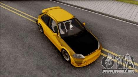 Honda Civic Hatchback Tuned para GTA San Andreas