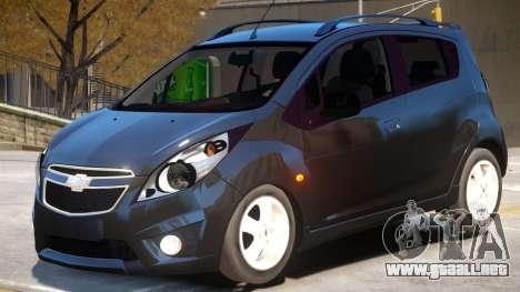 Chevrolet Spark V1 para GTA 4