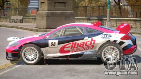 Mitsubishi Eclipse Rally PJ5 para GTA 4