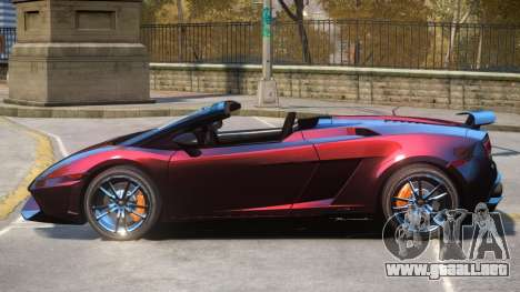 Gallardo Spyder Performante para GTA 4