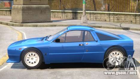 Lancia 037 V1.1 para GTA 4