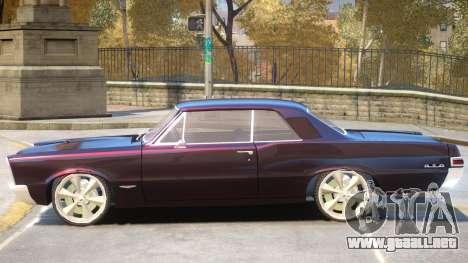 1983 Pontiac GTO V1 para GTA 4