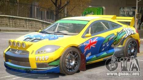Mitsubishi Eclipse Rally PJ1 para GTA 4