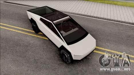 Tesla Cybertruck v1.2 para GTA San Andreas