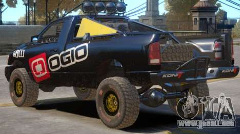Dodge Power Wagon Baja V1 PJ6 para GTA 4